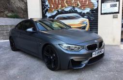 BMW M4 COUPE 431 CV DKG 7 gris mate 32500 km